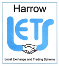 Harrow LETS logo